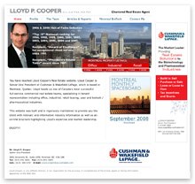 Lloyd Cooper Home Page